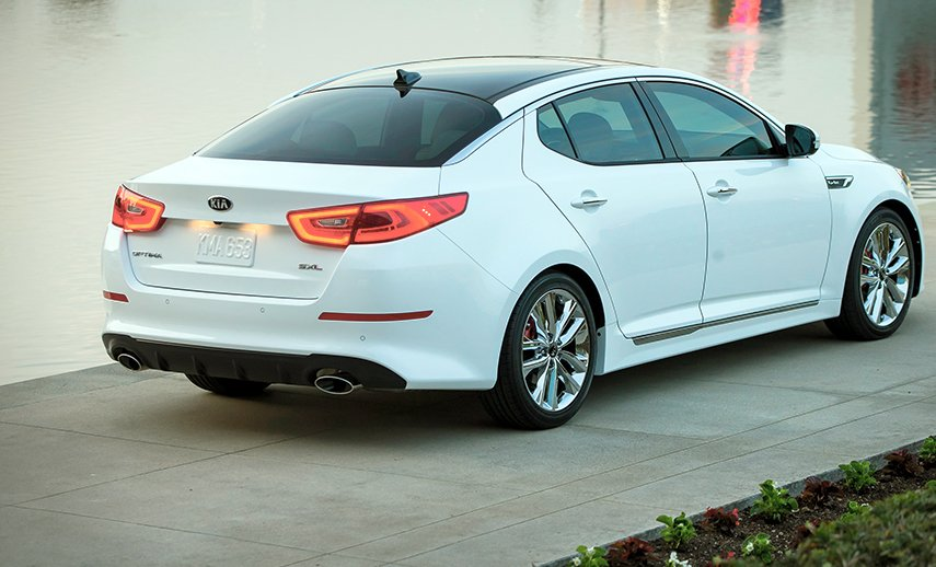 Kia Optima restyling Usa