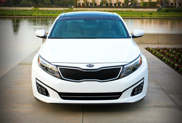Kia Optima restyling 2014